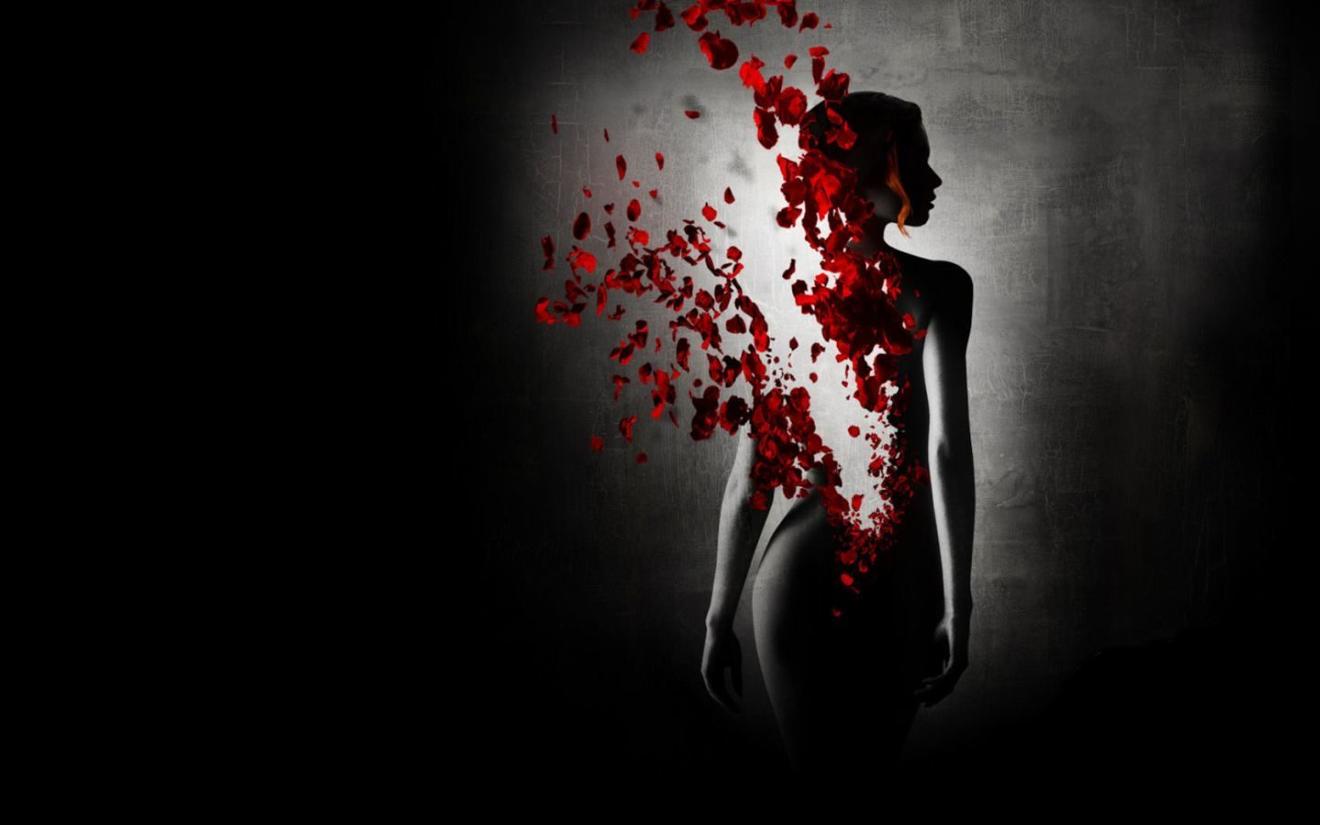 mujer y rosa roja - photo #22